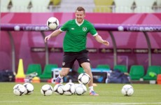 Cox to start in attack with Keane - reports
