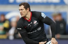 Saracens to face Munster without the European Player of the Year