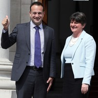 Foster blames Varadkar for 'setting precedent' with comments that could stoke loyalist violence