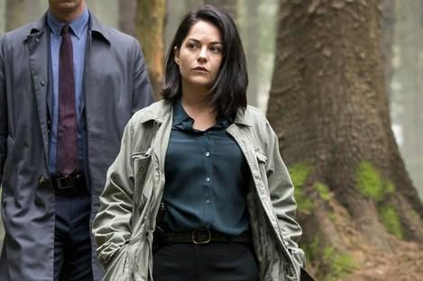 Sarah Greene stars with Killian Scott in Dublin Murders.