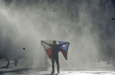 One million Chileans take to streets to demand resignation of president Sebastian Pinera