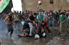 Dozens of people killed during anti-government protests in Iraq