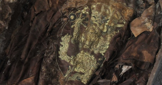 In pictures: Mummified human remains found in Ming Dynasty tomb