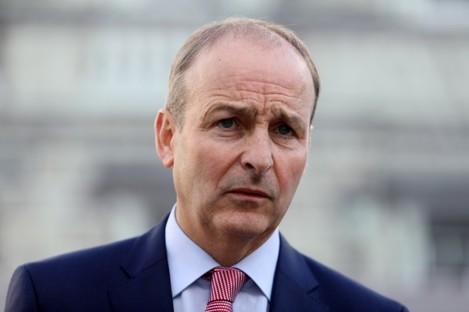 Fianna Fáil Leader Micheal Martin