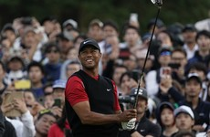 Superb 63 puts McIlroy in top five as Tiger pushes for a Monday victory in Japan