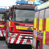 Firefighters come under attack whilst extinguishing bonfire in Dublin