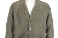 Kurt Cobain's cigarette-singed cardigan sells for €300,000