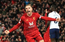 As it happened: Liverpool v Tottenham, Premier League