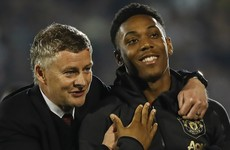'People have the wrong idea about Anthony' - Solskjaer backs Martial to be United's no.9