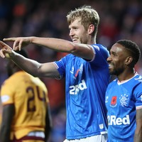 Rangers strike late to come from behind and keep pace with Celtic