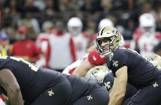 Brees makes unblemished return from injury as Saints rout hapless Cardinals