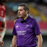 Jérôme Garcès will ref the World Cup final between England and the Boks