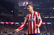 Morata scores again but Atletico miss chance to go top of La Liga