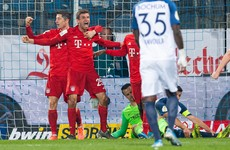 Bayern narrowly escape big upset to squeeze into last 16 of German Cup