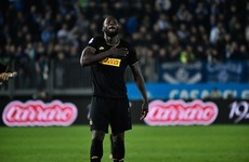 Romelu Lukaku on target as Inter Milan go top of Serie A