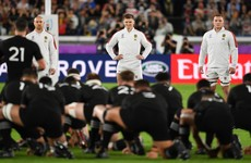 England fined for crossing halfway line in haka response to All Blacks