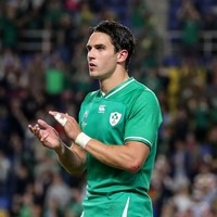 Joey Carbery returns to Munster with ankle injury after World Cup