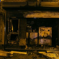 Gardaí investigating after derelict house badly damaged by Halloween bonfire stockpile blaze