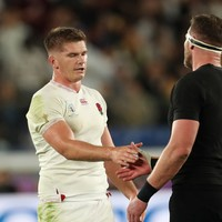 'He's the sort of person you want to follow' - Farrell leading England by example