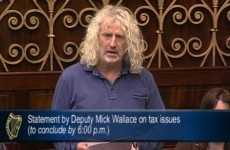 Mick Wallace promises to donate half of salary to VAT repayment