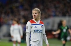 Hegerberg sets new Champions League record with 53rd goal in 50