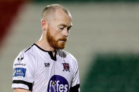 Chris Shields will miss Sunday's FAI Cup final.