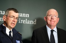Garda Commissioner says threatening posters against Quinn directors will be removed from lampposts