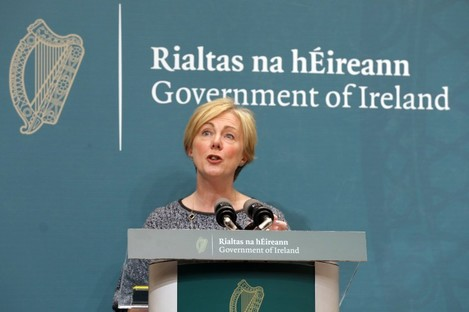 Minister Regina Doherty announced the plans today.