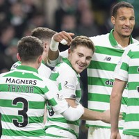 Forrest keeps Celtic on top as Rangers stay close