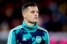 Arsenal to offer Xhaka counselling after fan feud - reports