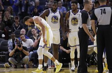 Warriors nightmare deepens as Steph Curry suffers broken hand