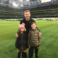 'They'll be sitting just behind me in the dugout. I wouldn't want to enjoy these experiences without them'