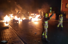 Dublin Fire Brigade is responding to a large number of fires across the city tonight