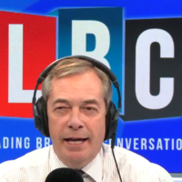 Donald Trump goes on Nigel Farage's radio show and says Corbyn would be 'so bad' for UK