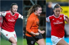 Champions League joy for Irish trio as Arsenal and Glasgow march into quarter-finals