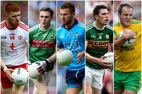 McShane, Durcan, McCaffrey, Moran and Murphy are amongst the winners.