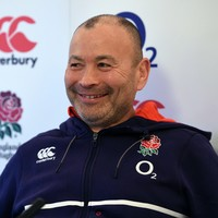 Eight days after his unveiling at Stormers, Jones was England's new head coach