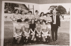 The Irish team who were part of a women's football revolution in England