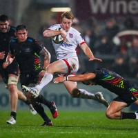 Will Addison suffers arm injury as Ulster battle past Zebre