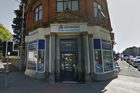 Ulster Unionist Party headquarters in Belfast
