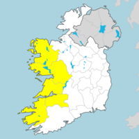 It's going to be a wet weekend as Status Yellow rainfall warning issued for five counties