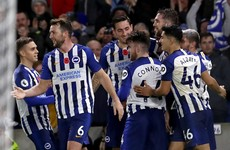 Irish duo on target as Newcastle and Brighton pick up victories