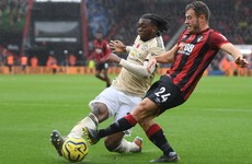 Ferdinand offers Wan-Bissaka advice after Bournemouth error