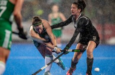 'The girls are used to things like that' - Ireland hold firm in biblical rain