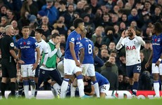 Gomes suffers horror injury as Everton deny Tottenham long-awaited away win