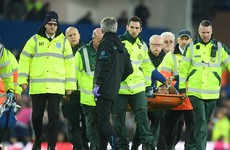 Everton confirm Andre Gomes suffers ankle fracture dislocation