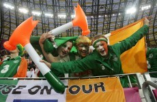 Video: Irish fans in Gdansk in full voice as others hail magnificent support