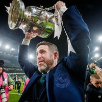 'I'd love for her to be here' - Stephen Bradley pays tribute to late mother after Shamrock Rovers' cup win