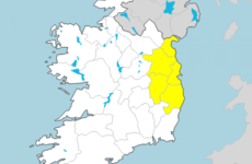 Spot flooding expected as Status Yellow rain warning issued for Dublin region