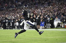'MVP' Jackson leads the way as Ravens hand juggernaut Patriots first loss